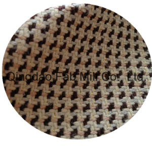 Hemp Yarn Dyed Fabric with Lurex (QF13-0110) pictures & photos