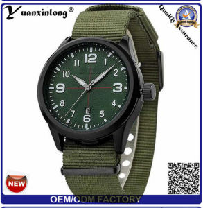 Yxl-861 2016 Luxury Brand Military Watch Men Quartz Analog Clock Leather Canvas Strap Clock Man Sports Watches Army Relogios Masculino pictures & photos