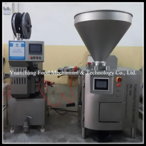 Vacuum Sausage Meat Bowl Cutter Machine Factory pictures & photos