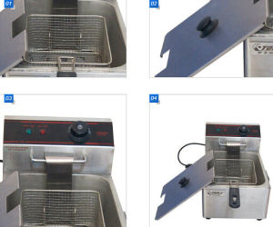 CE Approved Hot Sales Electric Twin-Tank Deep Fryer pictures & photos