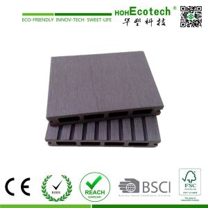 China Crack-Resistant WPC Decking Composite Decking with CE, Intertek Certification pictures & photos