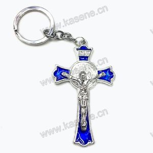 Modern Design Rosary Enamel Crucifix, Cross Keyring pictures & photos