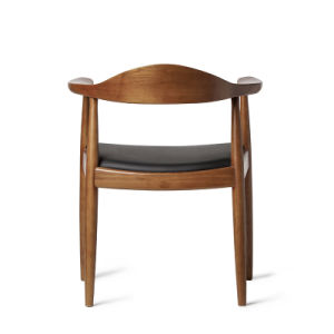 Nordic Style Wooden Furniture Dining Room Chair with Solid Wood pictures & photos