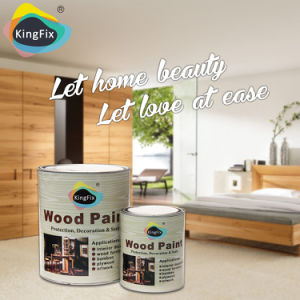 Kingfix Strong Filling Power Nitrocellulose Wood Paint pictures & photos