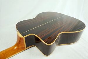 Wholesale Price D Hole Archtop Maccaferri Style Jazz Guitar pictures & photos