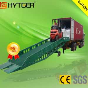 6 Ton China Brand New Durable Mobile Hydraulic Dock Ramp pictures & photos