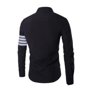 Stylish Mens Long Sleeve Slim Fit Dress Shirt (A427) pictures & photos