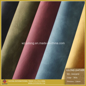 Yabuck PU Leather for Shoes (S004) pictures & photos