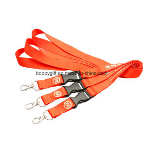Custom Logo Lanyards, Polyester Lanyard for Promotion pictures & photos