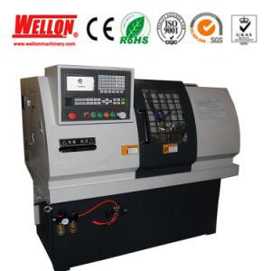 Mini Flat Bed CNC Turning Lathe Machine J32 J35 pictures & photos