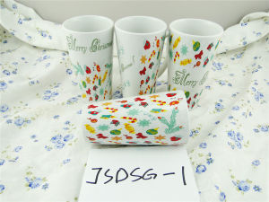 Christmas Promotional Porcelain Mug with Cheap Price pictures & photos