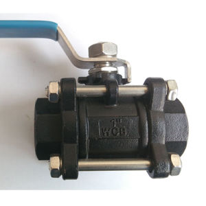 3-PC Flanged Ball Valve for Water/Oil/Gear pictures & photos