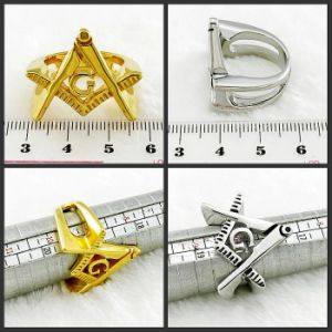 Fashion Jewelry Stainless Steel Masonic Ring pictures & photos