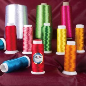 Cheap Price China Team Dyed Reflective Embroidery Thread pictures & photos