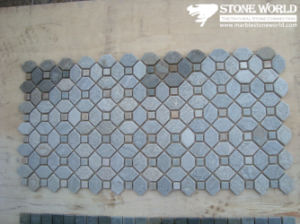 Slate Meshed Mosaic Pattern for Floor Tile pictures & photos
