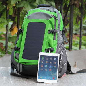 Solar Charger Backpack with 7 Watts Solar Panel pictures & photos
