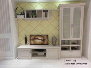 2015 UV MDF High Glossy Open Door Wardrobe (FY0032) pictures & photos