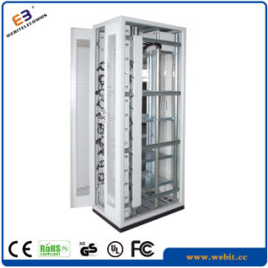 """19"""" Electrical Rack Cabinet with Vertical Cable Tray pictures & photos"""