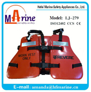 Best Quality Industrial Workers Life Jacket Oil Worker Lifevest pictures & photos