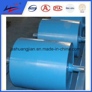 Belt Conveyor Drive Pulley, Crown Pulley with Rubber Lagging to Stop Slip pictures & photos