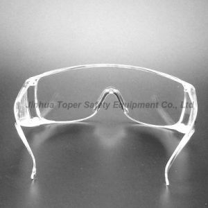 High Quality PC Material Wraparound Lens Safety Glasses (SG101) pictures & photos