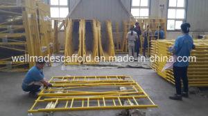 Snap on Frame Scaffolding Concrete Walk Through Frames pictures & photos