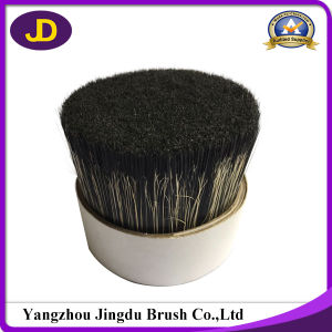 Natural Black 57mm 90% Tops Pig Boiled Bristle pictures & photos