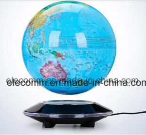 Claasical Magnetic Suspended and Turning Globe with Inductive Lighting Christmas Gift