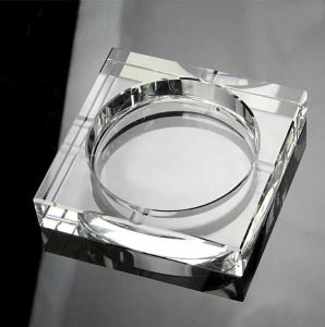 Promotional Gifts Best Quality Black Crystal Ashtray pictures & photos