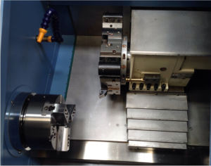 CNC Lathe Machine Ck42t for Automatic Metal Cutting pictures & photos