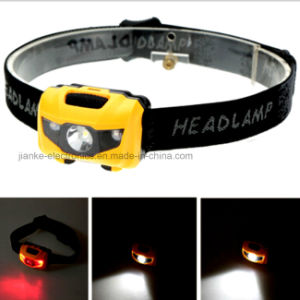 1W Rechargeable Mini LED Headlight with Logo Printed (4000) pictures & photos