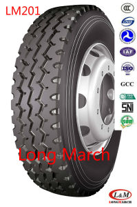Long March Heavy Duty All Position on Road Service Radial Truck Tire (LM201) pictures & photos