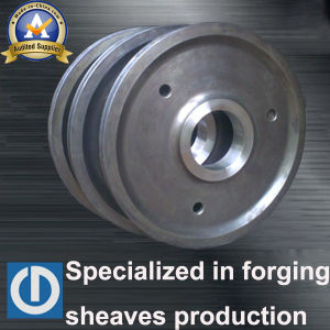 Hot Sale Crane Steel Ring Forged Sheave pictures & photos