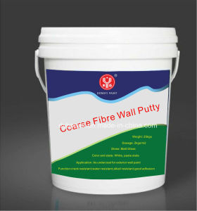 Ready-Made Alkali Resistant Coarse Fibre Wall Putty for Exterior Wall