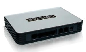 New Dinstar 2 Ports FXS SIP ATA VoIP Gateway pictures & photos