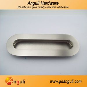 Stainless Steel Cabinet Oval Shape Invisible Pull Handle pictures & photos