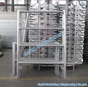 HDG Q235 Steel Ladder Frame System Scaffolding pictures & photos