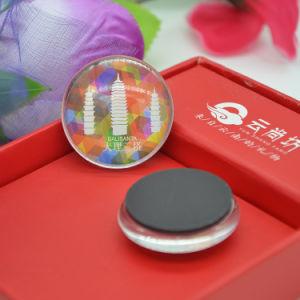 China Foshan Factory Direct Tourist Souvenirs Cities Glass Fridge Magnet pictures & photos