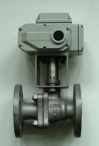 High Performance China Electric Flanged Ball Valve