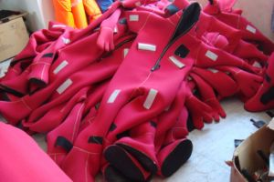 Marine Solas Immersion Suit for Ship Lifesaving pictures & photos