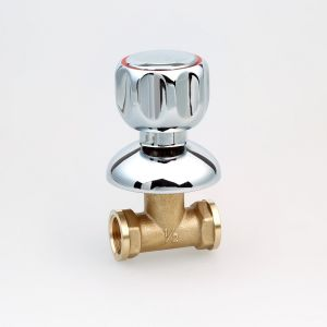 ATA Type Brass Stop Valve with Zinc Handle (Hx-2009)