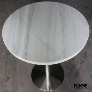 4 Seaters Solid Surface Furniture Restaurant Coffee Table pictures & photos