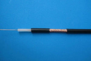 Rg 59 Coaxial Cable with Flooding Compound pictures & photos
