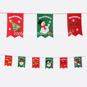 Christmas Hanging Felt Decorations / Felt Xmas Tree Hanging Ornament pictures & photos