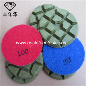 Cr-14 Concrete Diamond Floor Pad for Floor Polishing Machine (80/100X10mm)