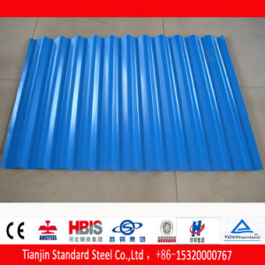 Hot Dipped Cold Rolled Gi Color Coated Roofing Sheet pictures & photos
