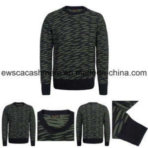 Men′s High Quality Pure Cashmere Knitwear with Patterns
