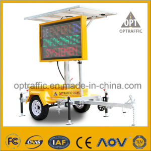 Ce Qualified Solar Powered LED Displays Mobile Vms pictures & photos