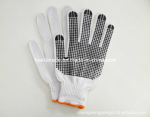 700 G Rubber Dotted Glove with Slip Resistant pictures & photos