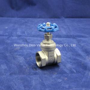 "3/4"" BSPT Thread Heavy Type Hand Wheel Gate Valve pictures & photos"